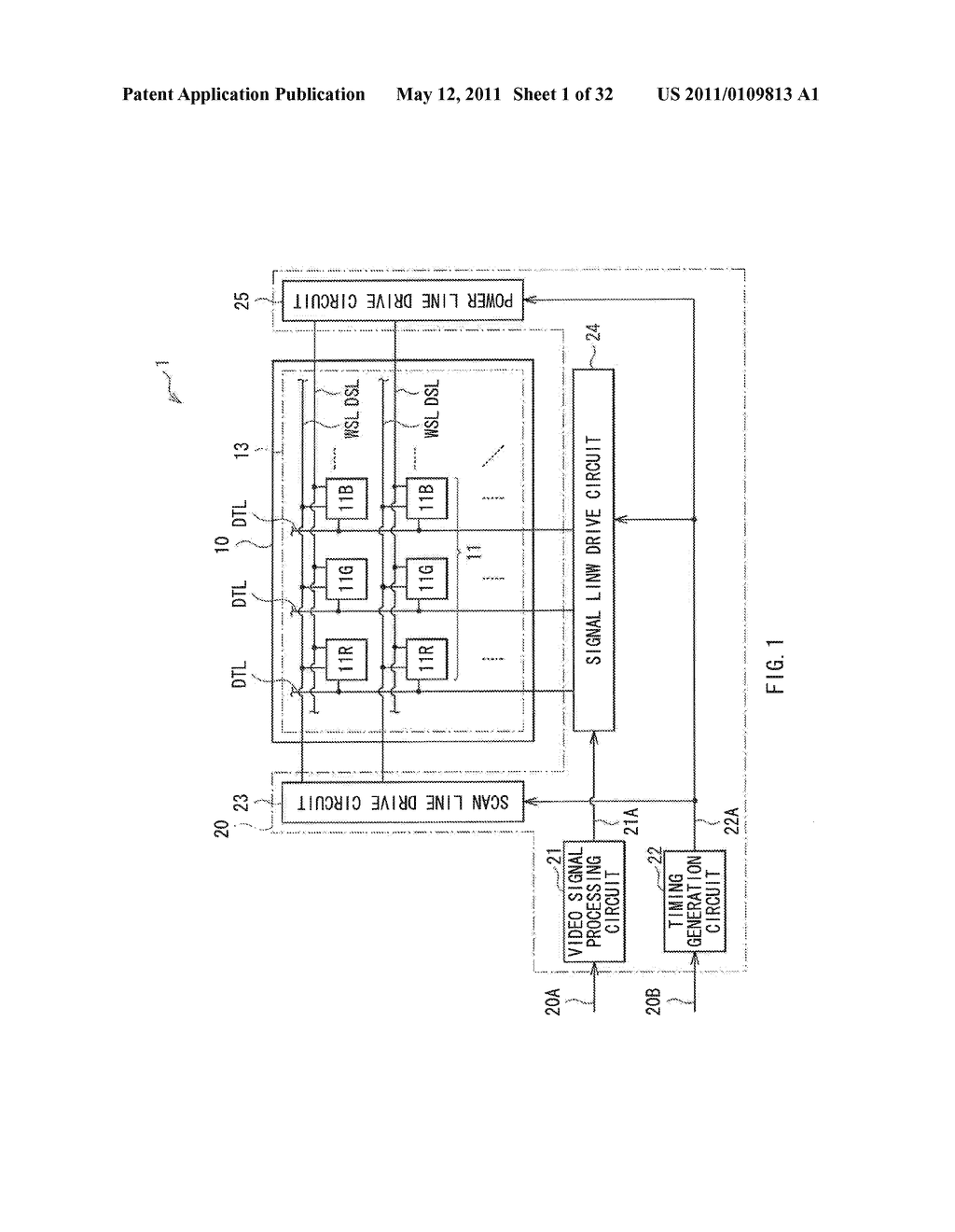 DISPLAY DEVICE AND DRIVE METHOD THEREFOR, AND ELECTRONIC UNIT - diagram, schematic, and image 02