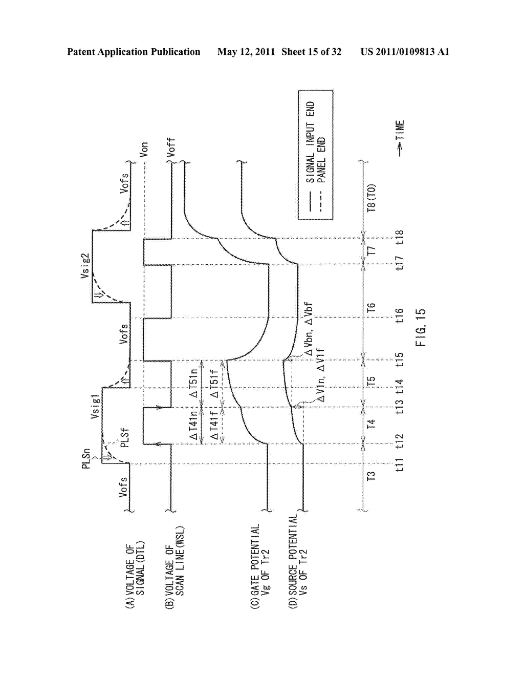 DISPLAY DEVICE AND DRIVE METHOD THEREFOR, AND ELECTRONIC UNIT - diagram, schematic, and image 16
