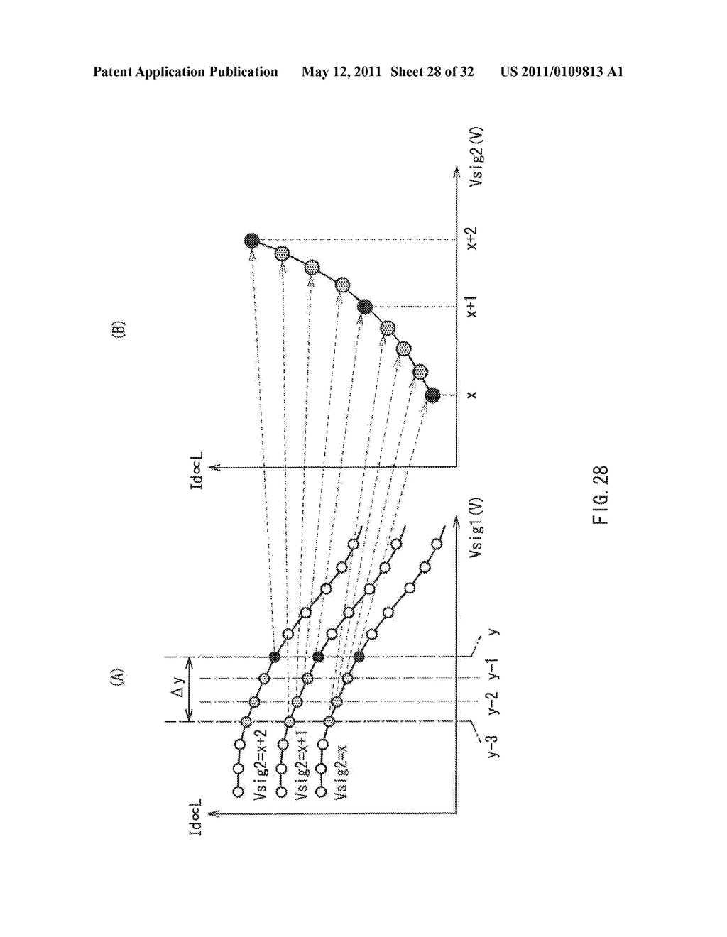 DISPLAY DEVICE AND DRIVE METHOD THEREFOR, AND ELECTRONIC UNIT - diagram, schematic, and image 29