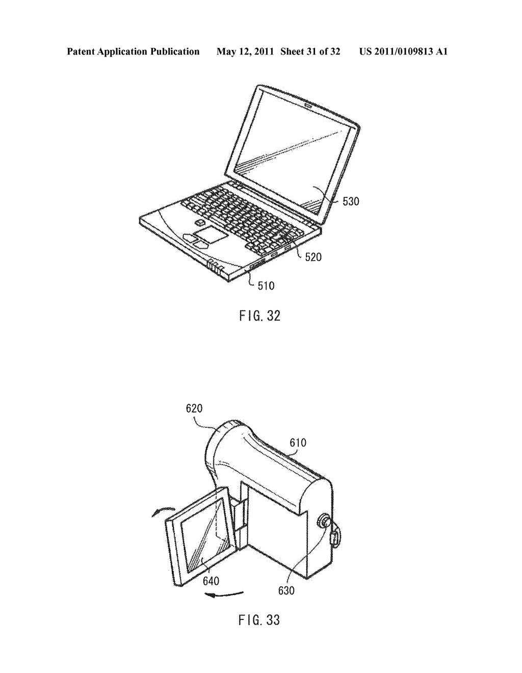 DISPLAY DEVICE AND DRIVE METHOD THEREFOR, AND ELECTRONIC UNIT - diagram, schematic, and image 32