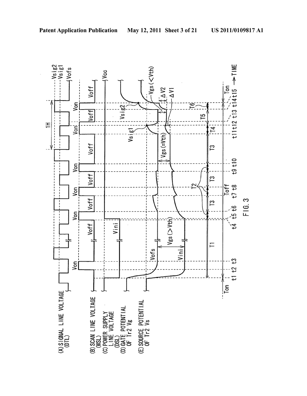 Display device, method of driving the same, and electronic unit - diagram, schematic, and image 04