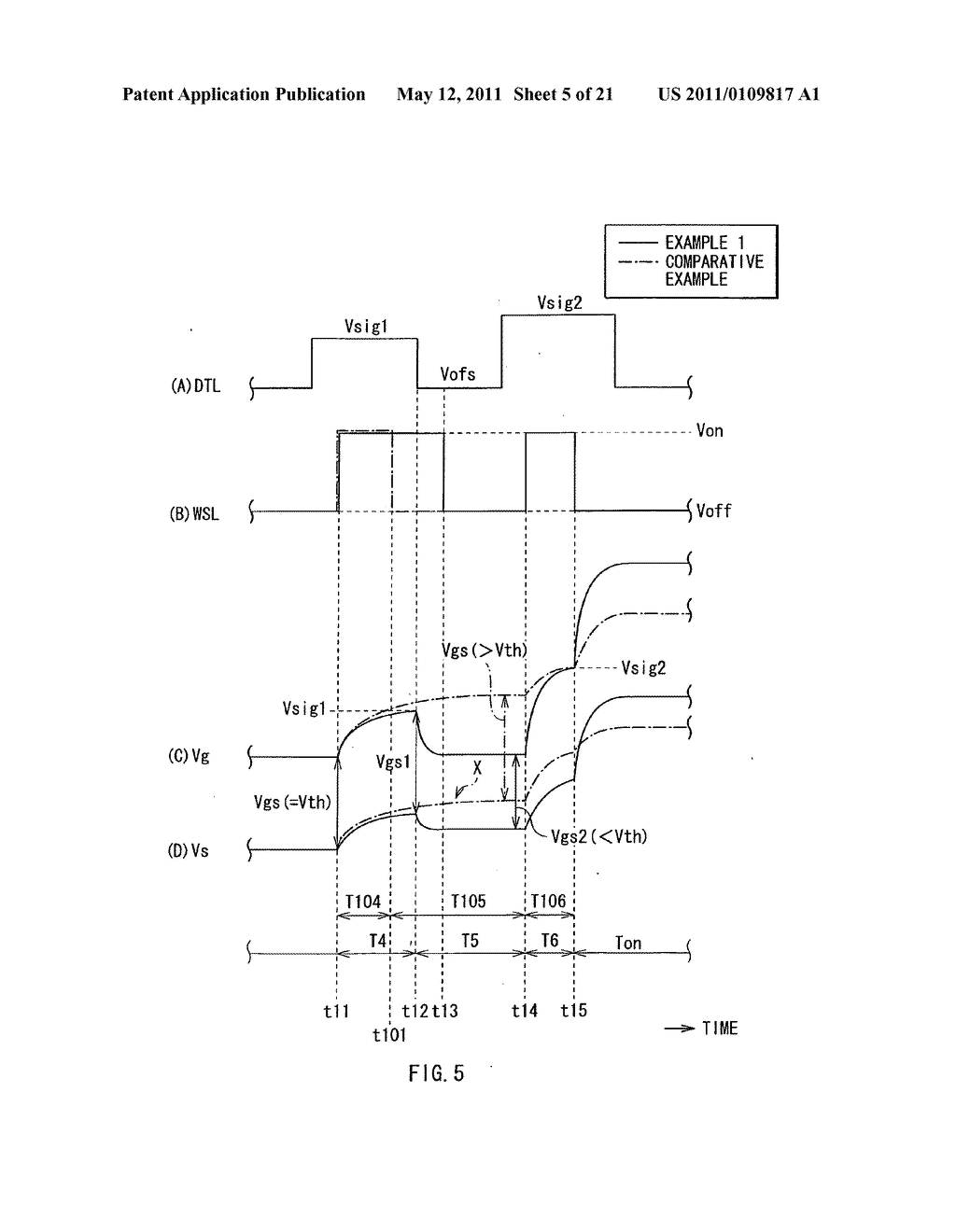 Display device, method of driving the same, and electronic unit - diagram, schematic, and image 06