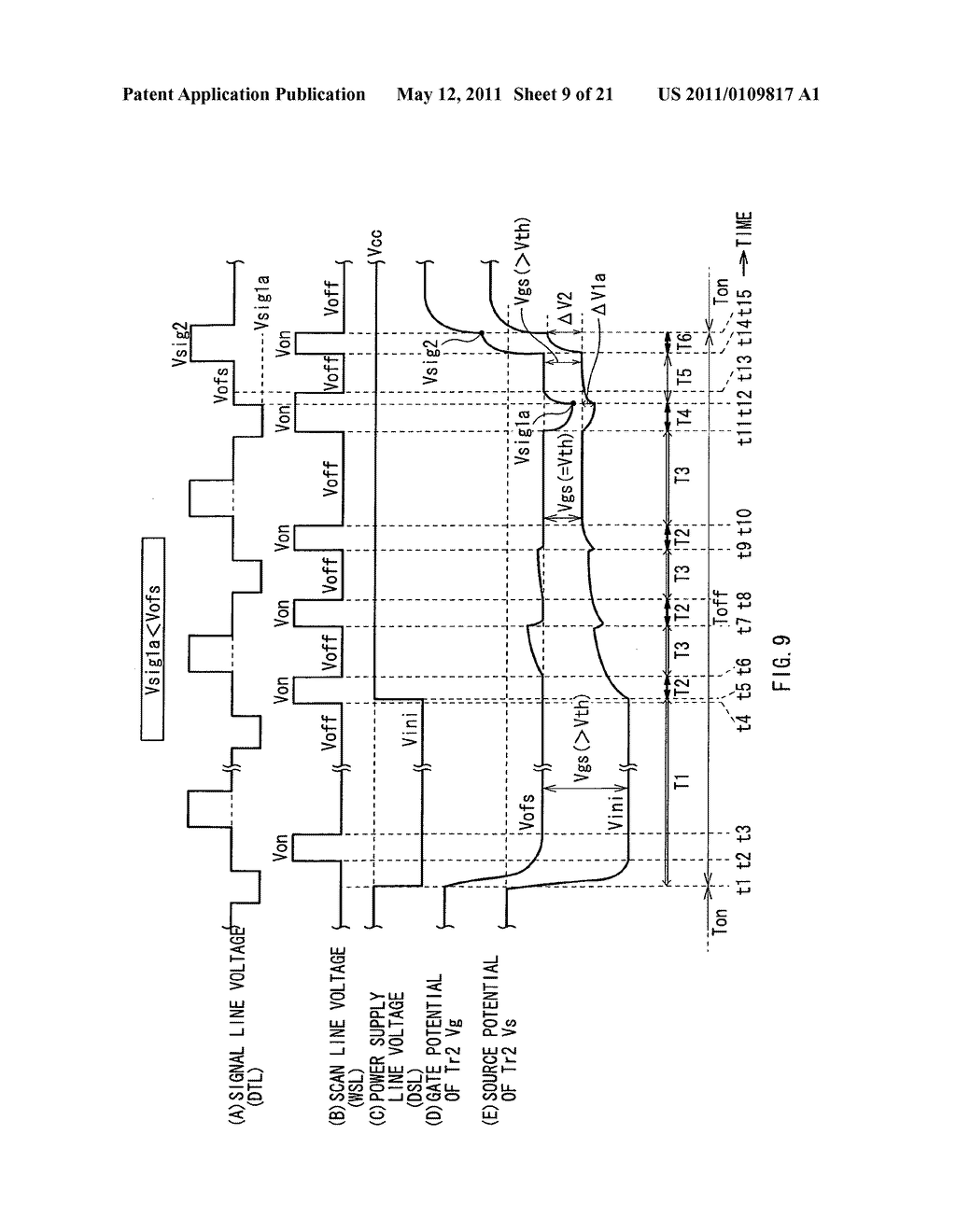 Display device, method of driving the same, and electronic unit - diagram, schematic, and image 10