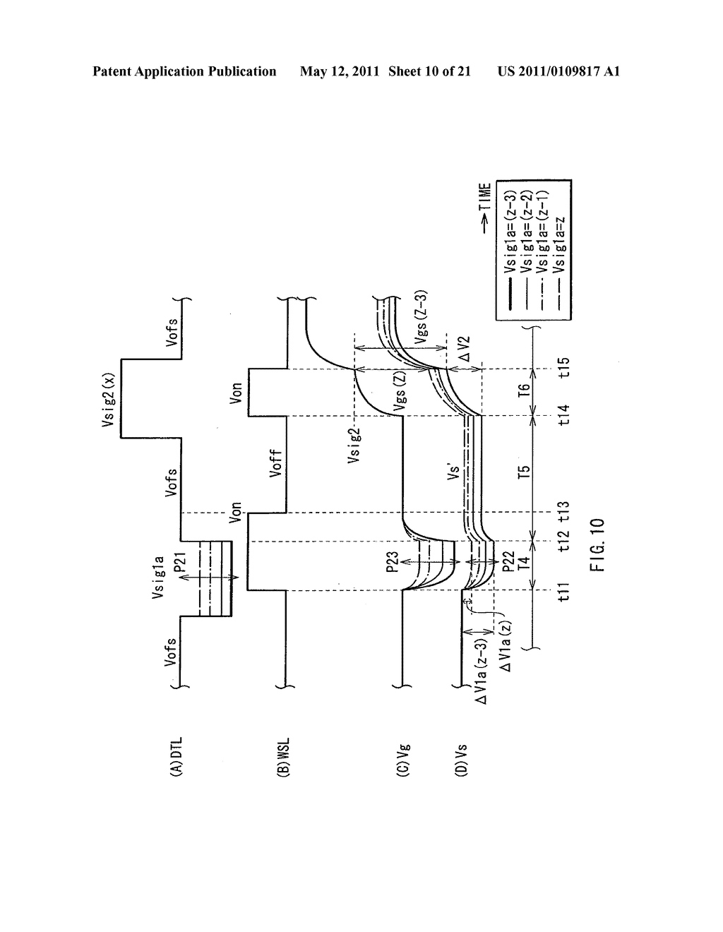 Display device, method of driving the same, and electronic unit - diagram, schematic, and image 11
