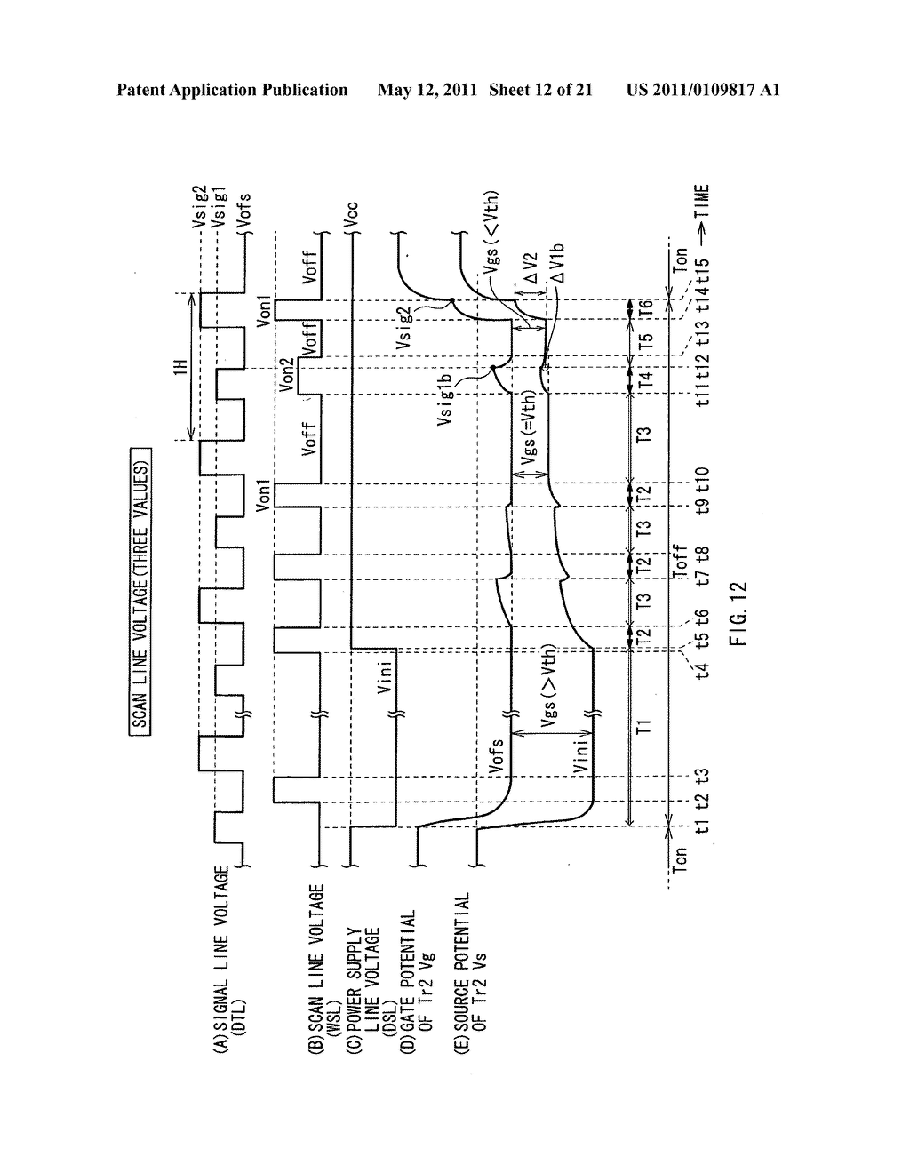 Display device, method of driving the same, and electronic unit - diagram, schematic, and image 13