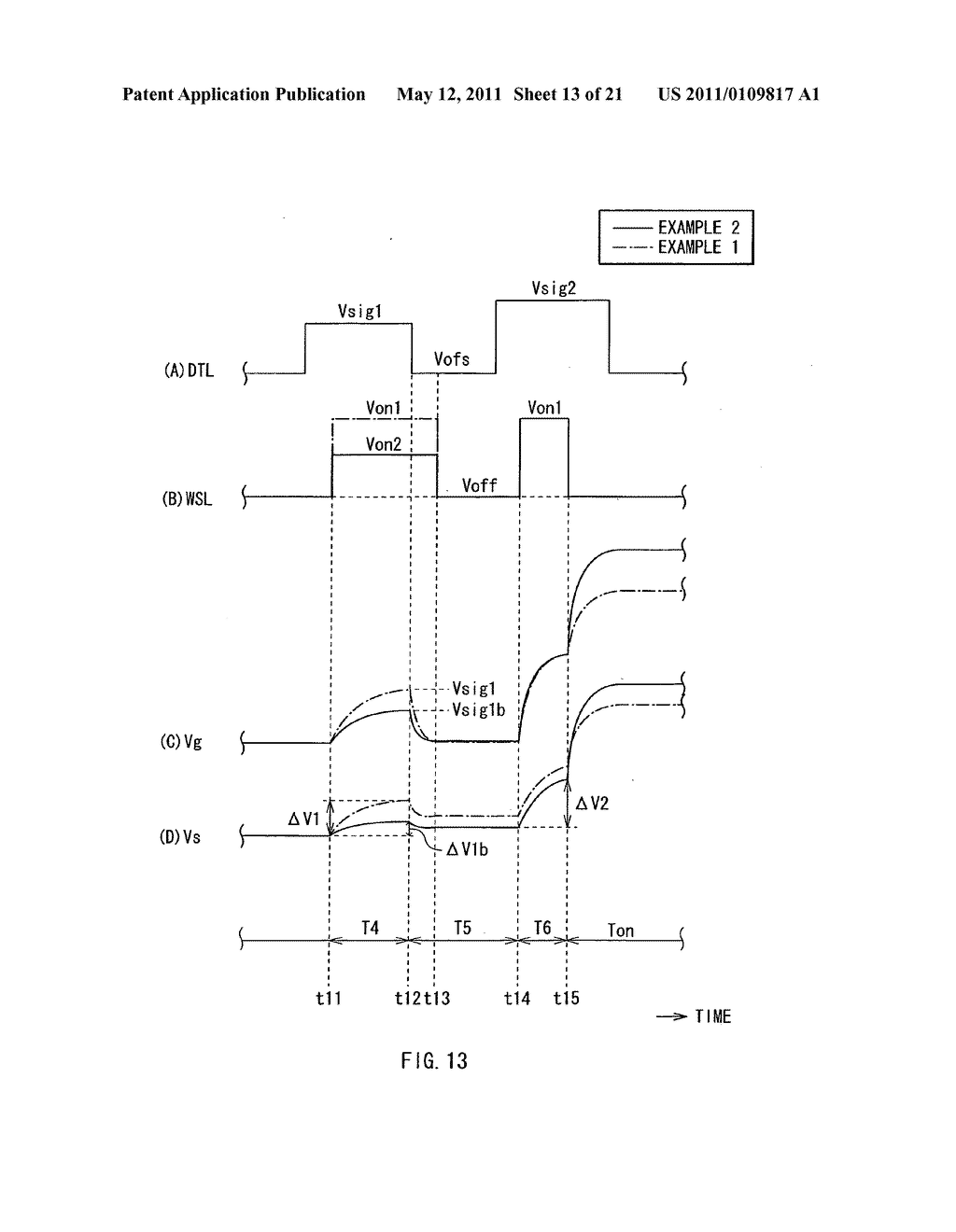 Display device, method of driving the same, and electronic unit - diagram, schematic, and image 14
