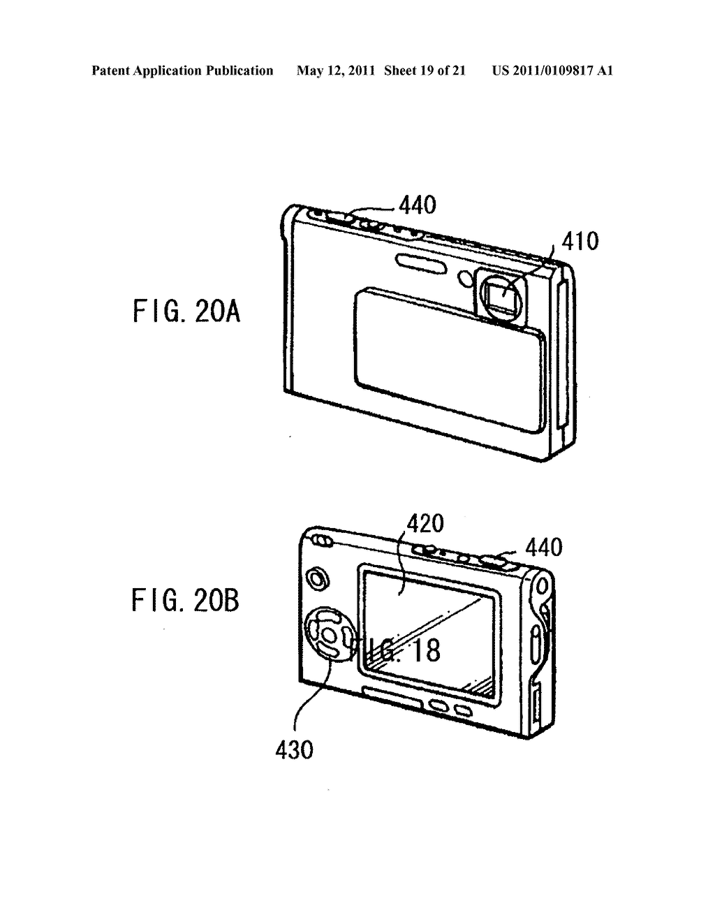 Display device, method of driving the same, and electronic unit - diagram, schematic, and image 20