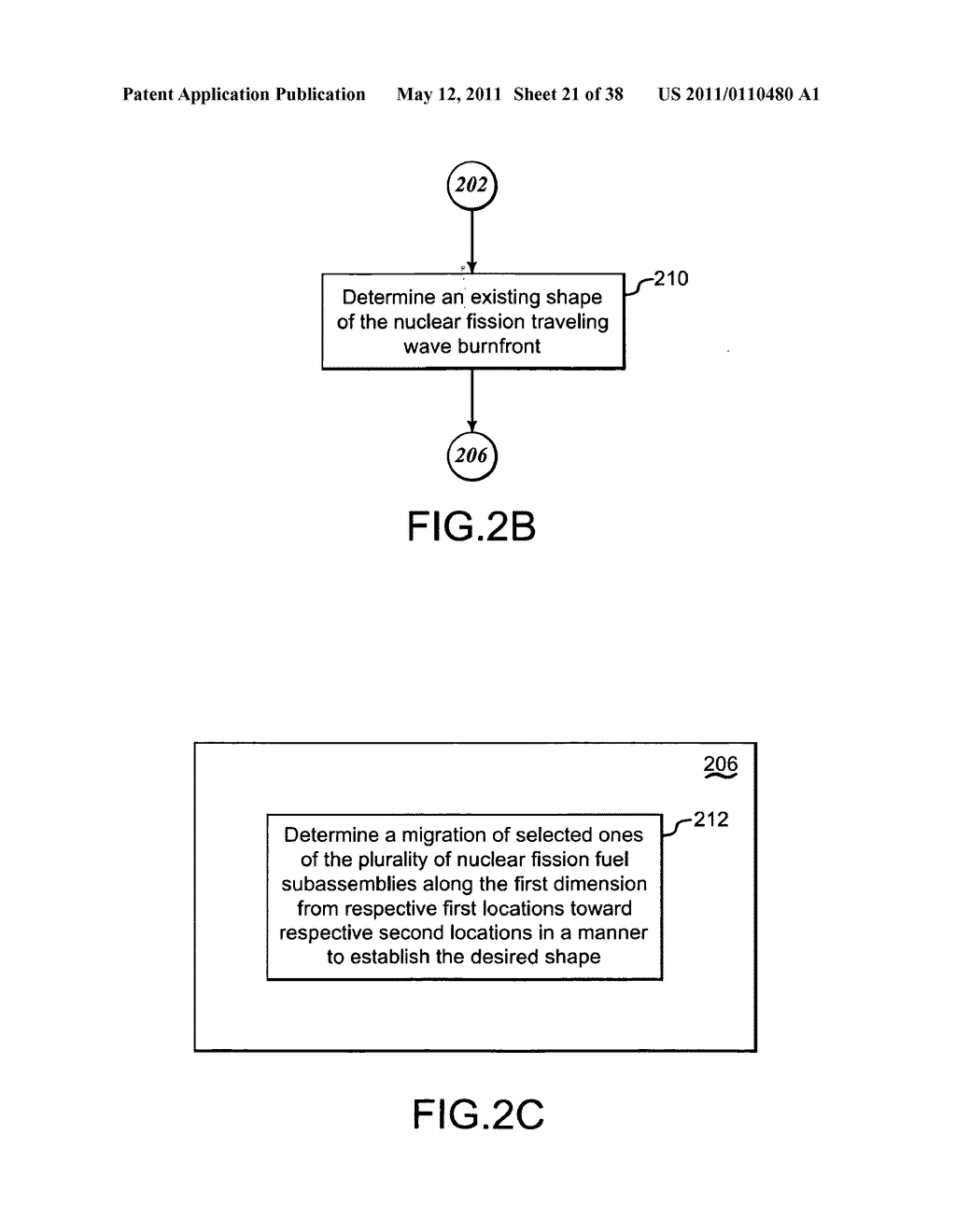 Methods and systems for migrating fuel assemblies in a nuclear fission reactor - diagram, schematic, and image 22