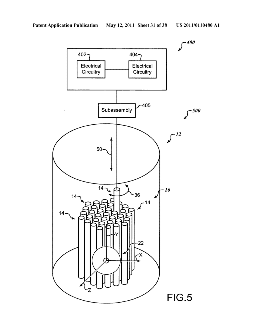Methods and systems for migrating fuel assemblies in a nuclear fission reactor - diagram, schematic, and image 32
