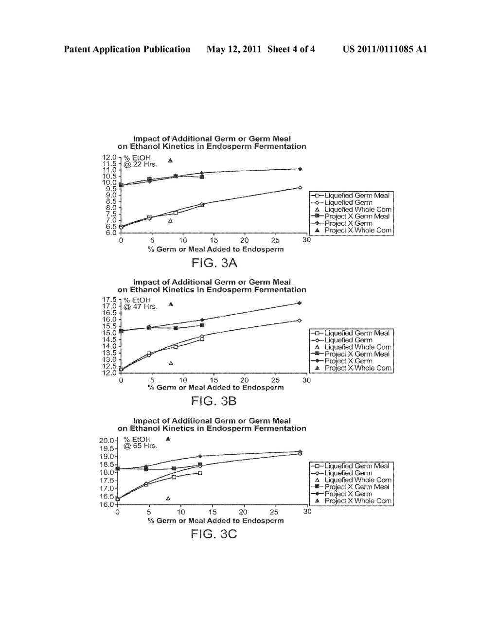 METHODS AND SYSTEMS FOR PRODUCING ETHANOL USING RAW STARCH AND FRACTIONATION - diagram, schematic, and image 05