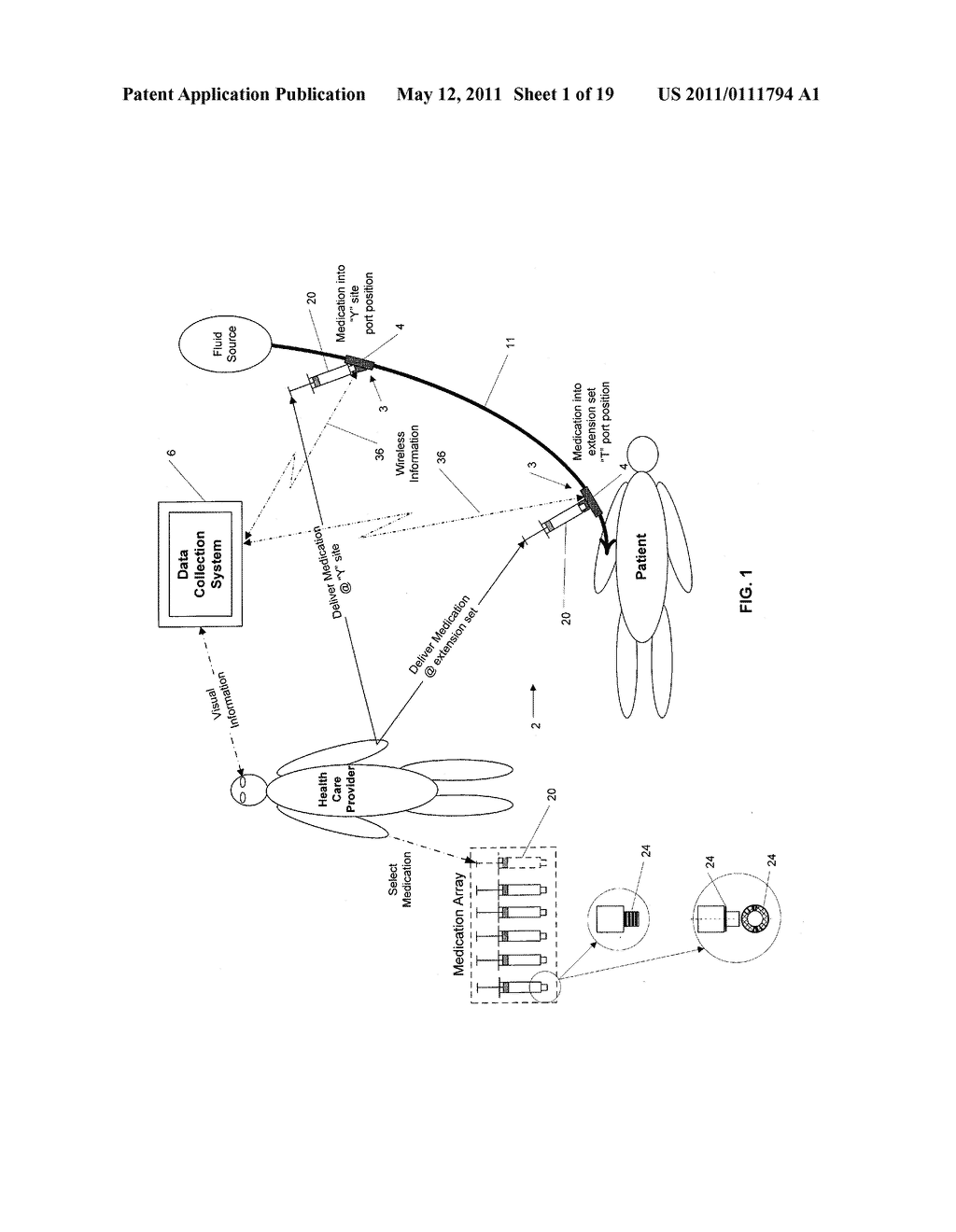 MEDICATION INJECTION SITE AND DATA COLLECTION SYSTEM - diagram, schematic, and image 02
