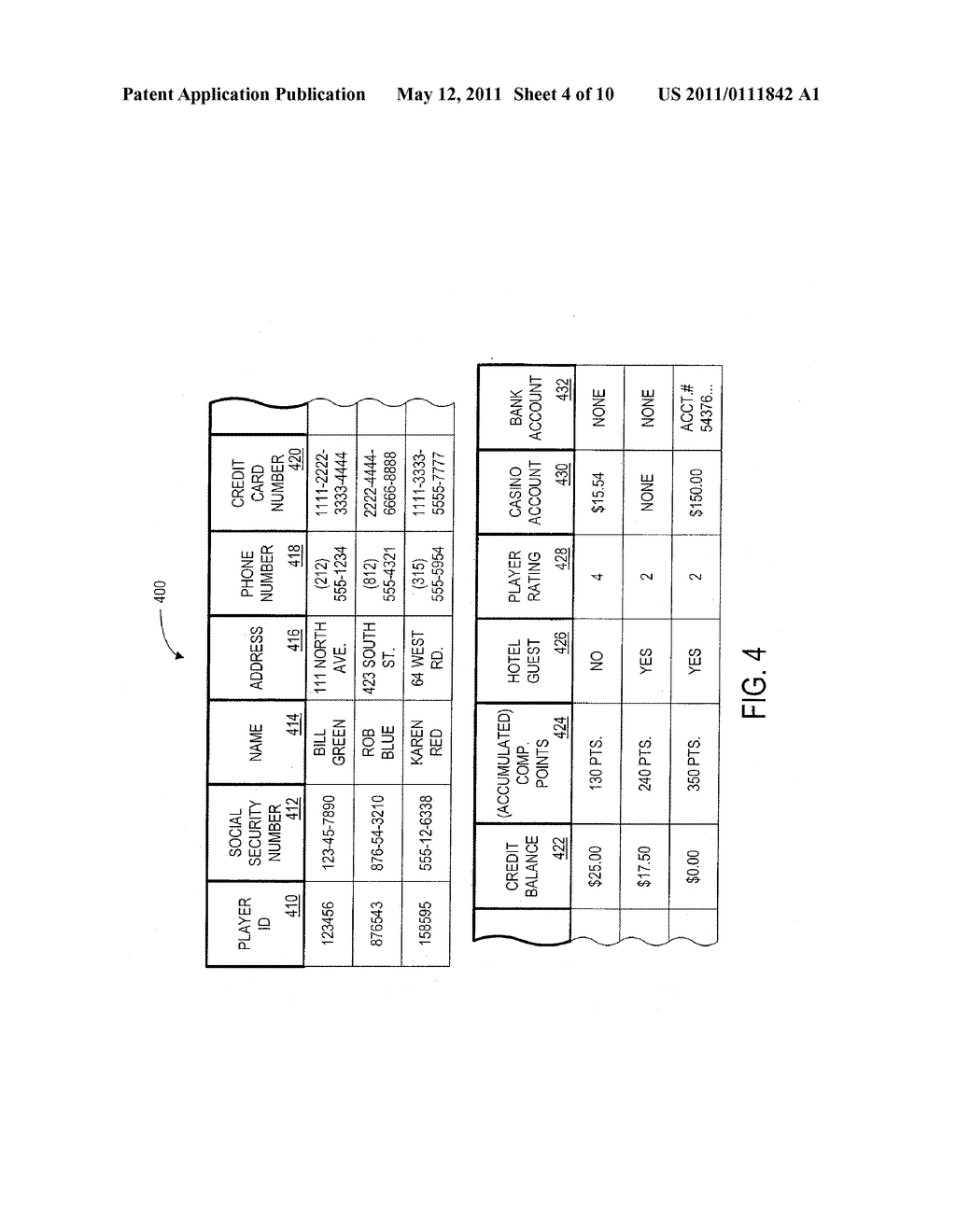 METHOD AND APPARATUS FOR ENABLING A PLAYER TO SIMULTANEOUSLY CONTROL GAME PLAY WITH MULTIPLE GAMING DEVICES - diagram, schematic, and image 05