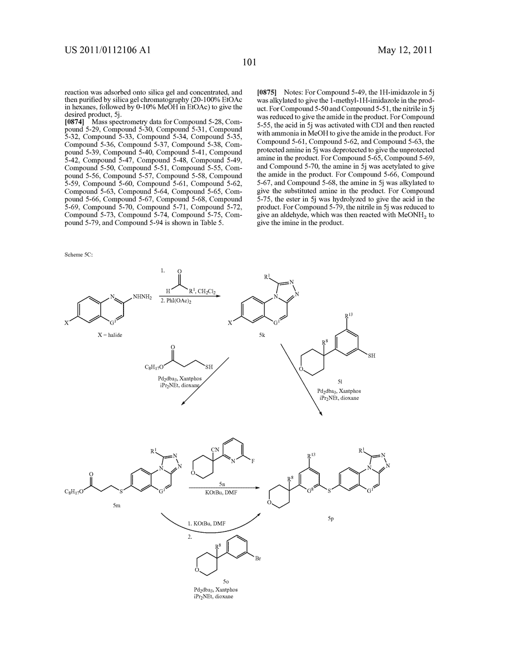 TRICYCLIC INHIBITORS OF 5-LIPOXYGENASE - diagram, schematic, and image 110