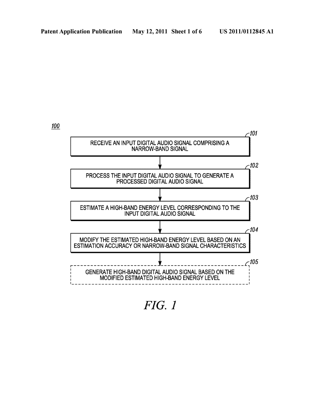 METHOD AND APPARATUS FOR ESTIMATING HIGH-BAND ENERGY IN A BANDWIDTH EXTENSION SYSTEM - diagram, schematic, and image 02