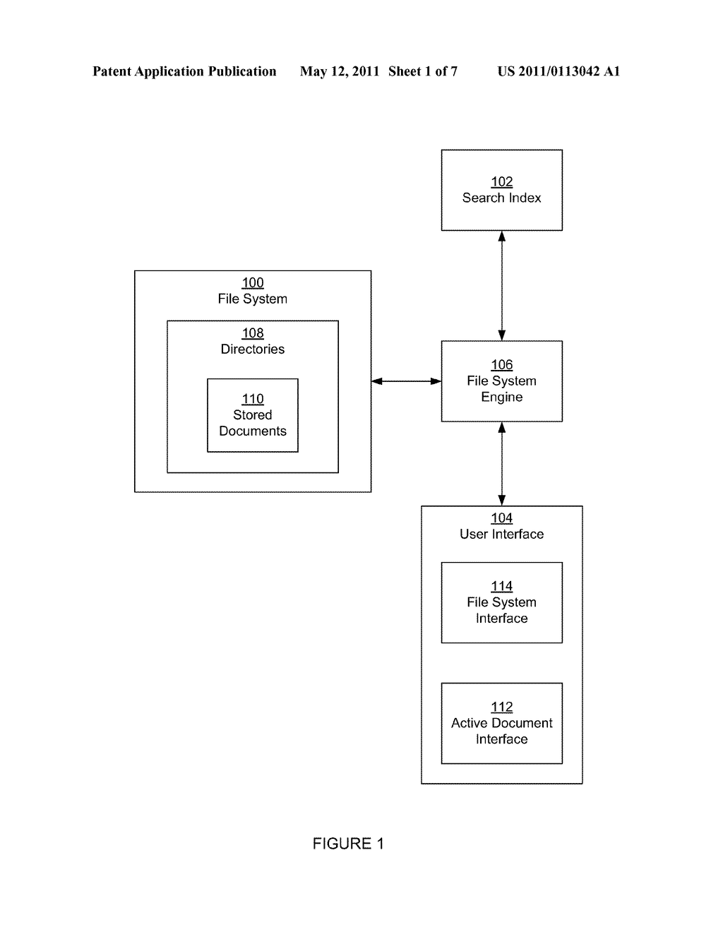 METHOD AND SYSTEM FOR ACCESSING A FILE SYSTEM - diagram, schematic, and image 02