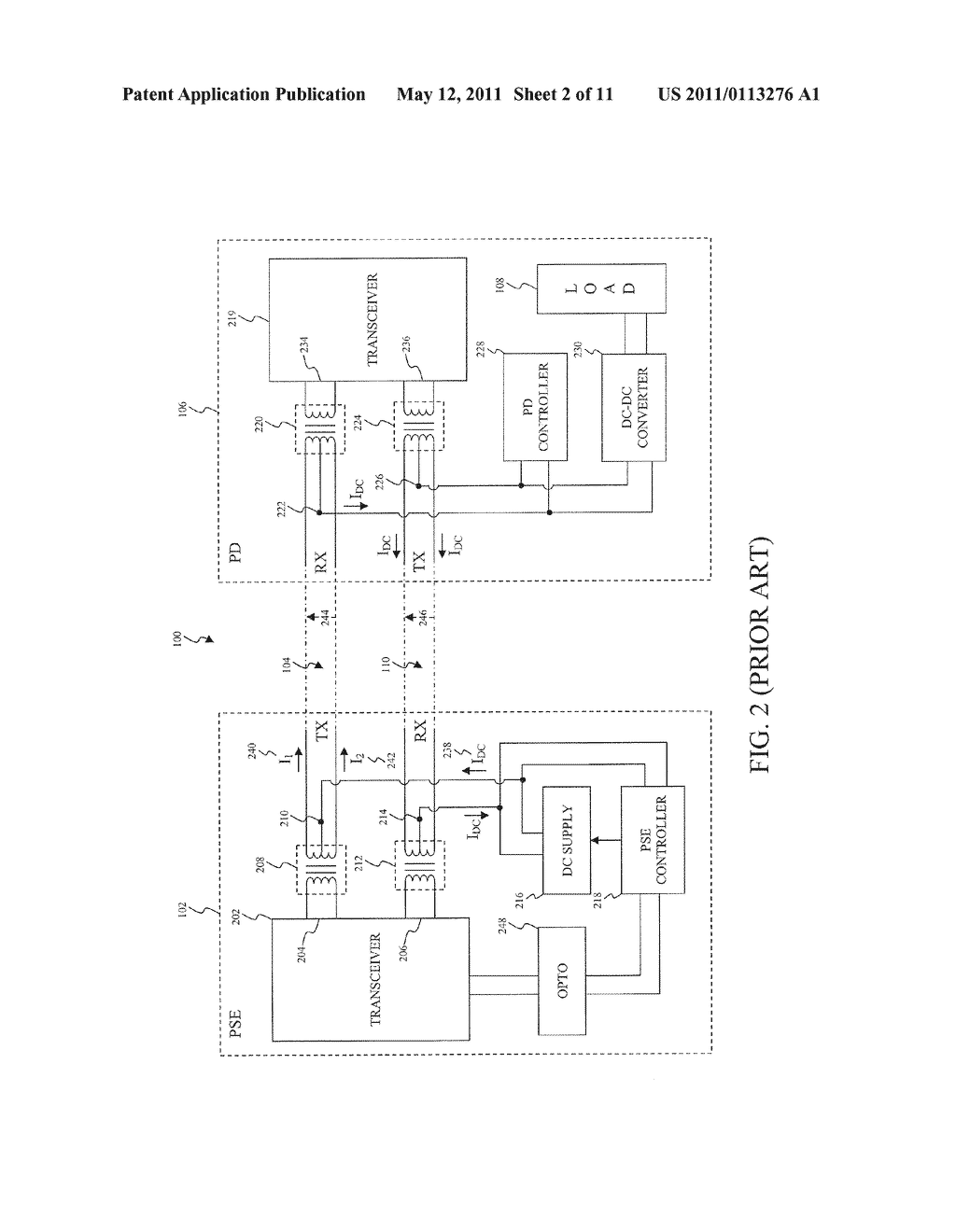 Physical Separation and Recognition Mechanism for a Switch and a Power Supply for Power Over Ethernet (POE) in Enterprise Environments - diagram, schematic, and image 03