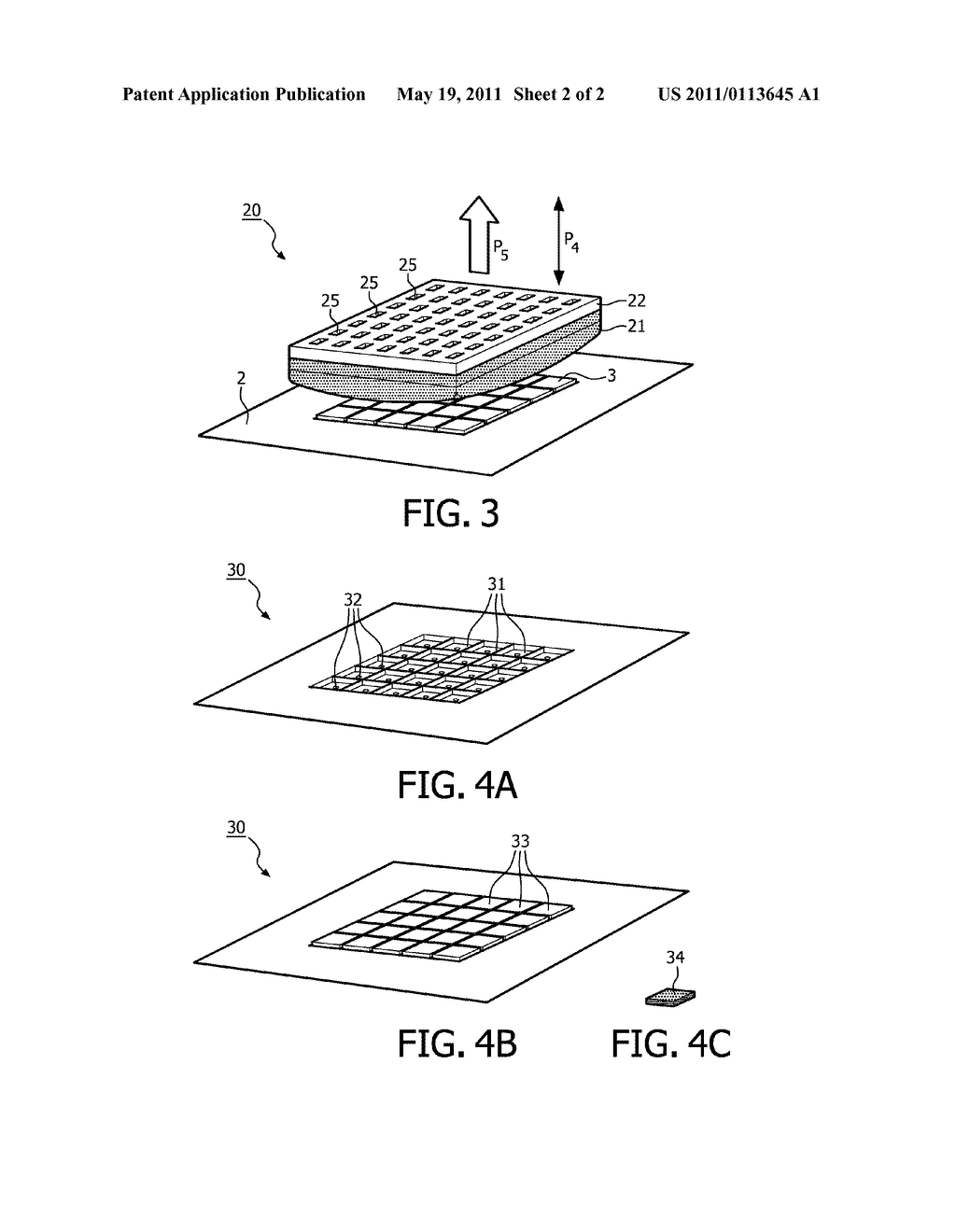 Device and Method for Drying Separated Electronic Components - diagram, schematic, and image 03