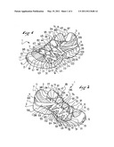 FOOTWEAR WHICH IMPROVES FOOT SUPPORT diagram and image