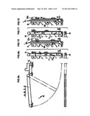 Excavator and a method for constructing an underground continuous wall diagram and image