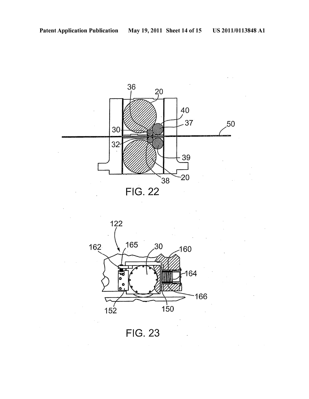 METHODS FOR REDUCING RIDGE BUCKLES AND ANNEALING STICKERS IN COLD ROLLED STRIP AND RIDGE-FLATTENING SKIN PASS MILL - diagram, schematic, and image 15