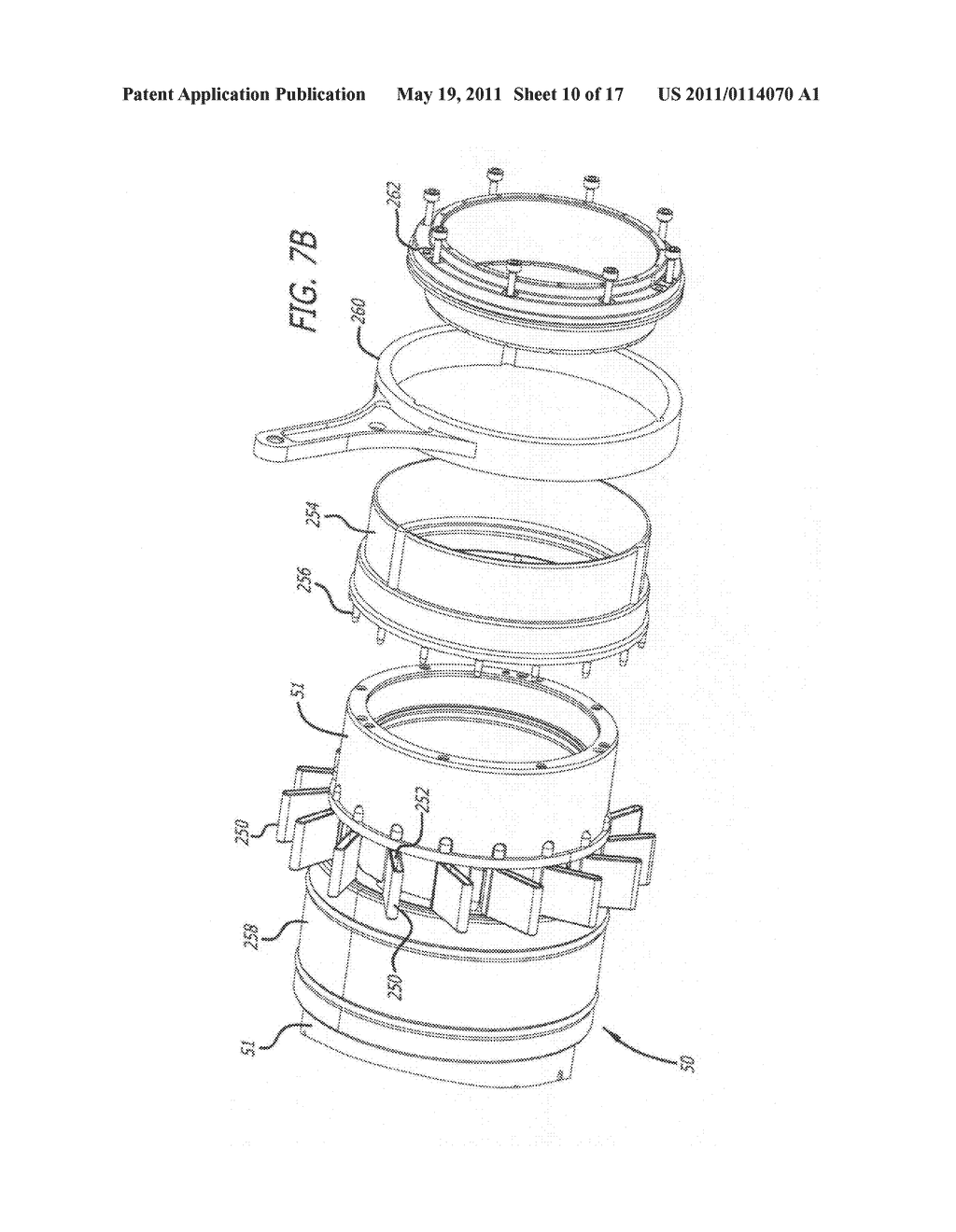 Apparatus and method for controlling swirl in a ported, two-stroke, internal combustion engine - diagram, schematic, and image 11