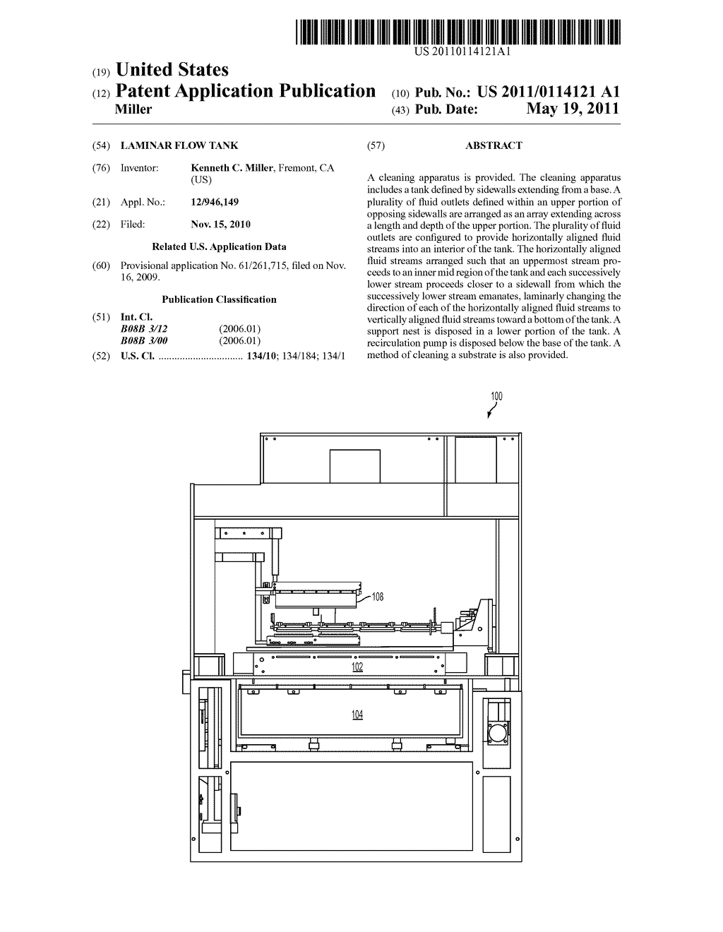 LAMINAR FLOW TANK - diagram, schematic, and image 01