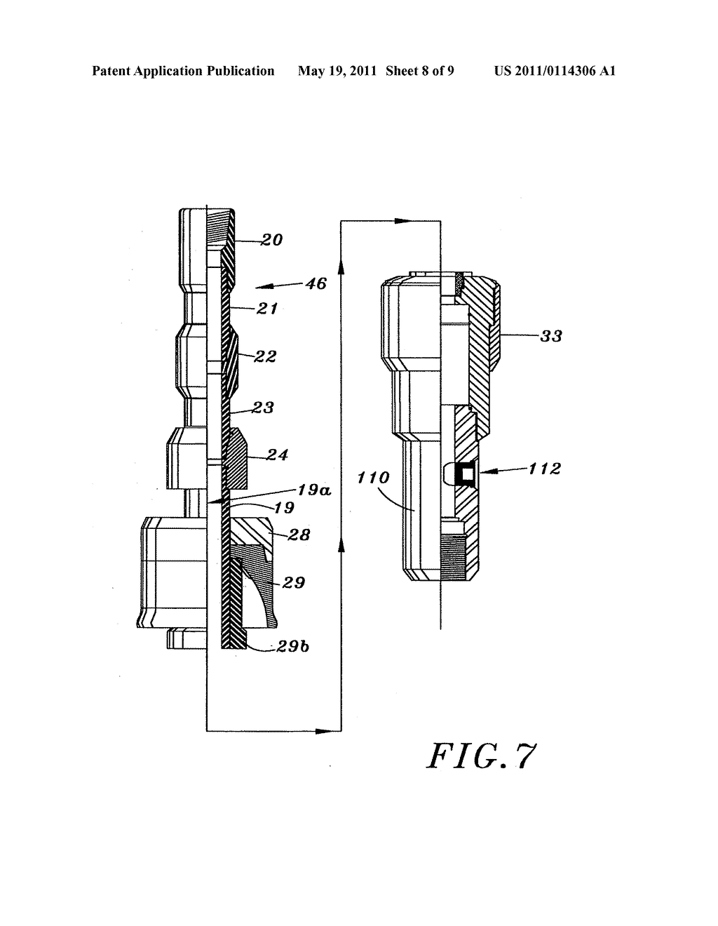 Methods and Devices for Forming a Wellbore with Casing - diagram, schematic, and image 09