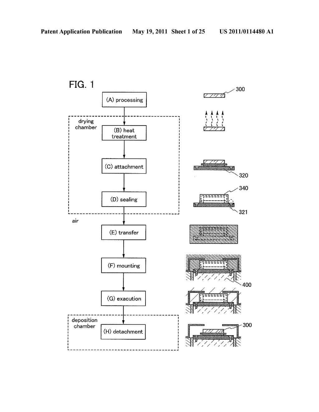 METHOD FOR PACKAGING TARGET MATERIAL AND METHOD FOR MOUNTING TARGET - diagram, schematic, and image 02