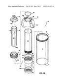 DRINKING CONTAINER WITH FILTER FILLING RESERVOIR diagram and image