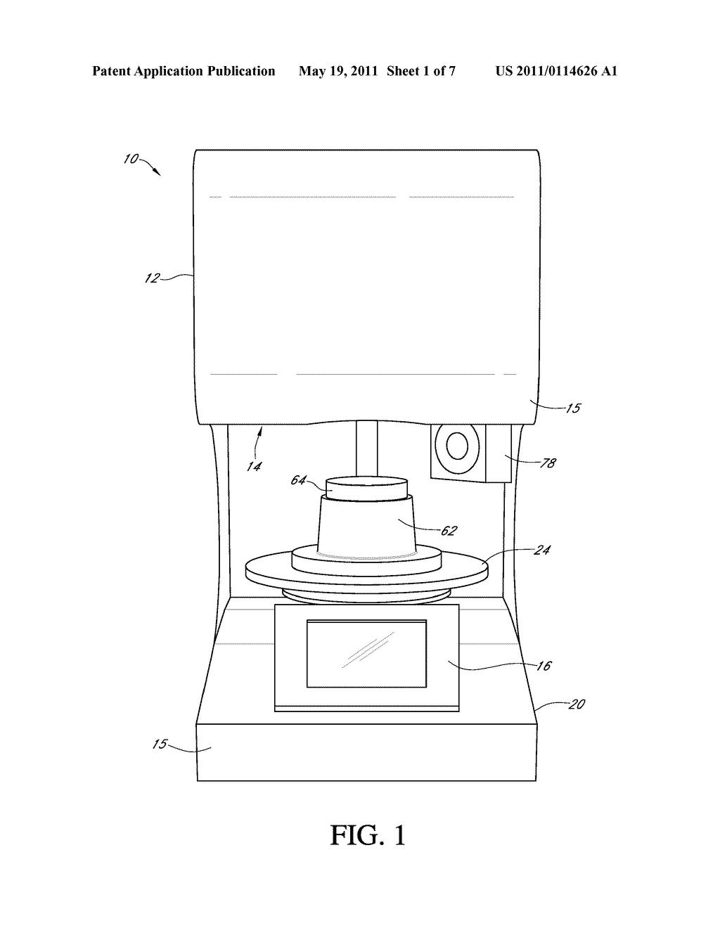 Vacuum Oven - diagram, schematic, and image 02
