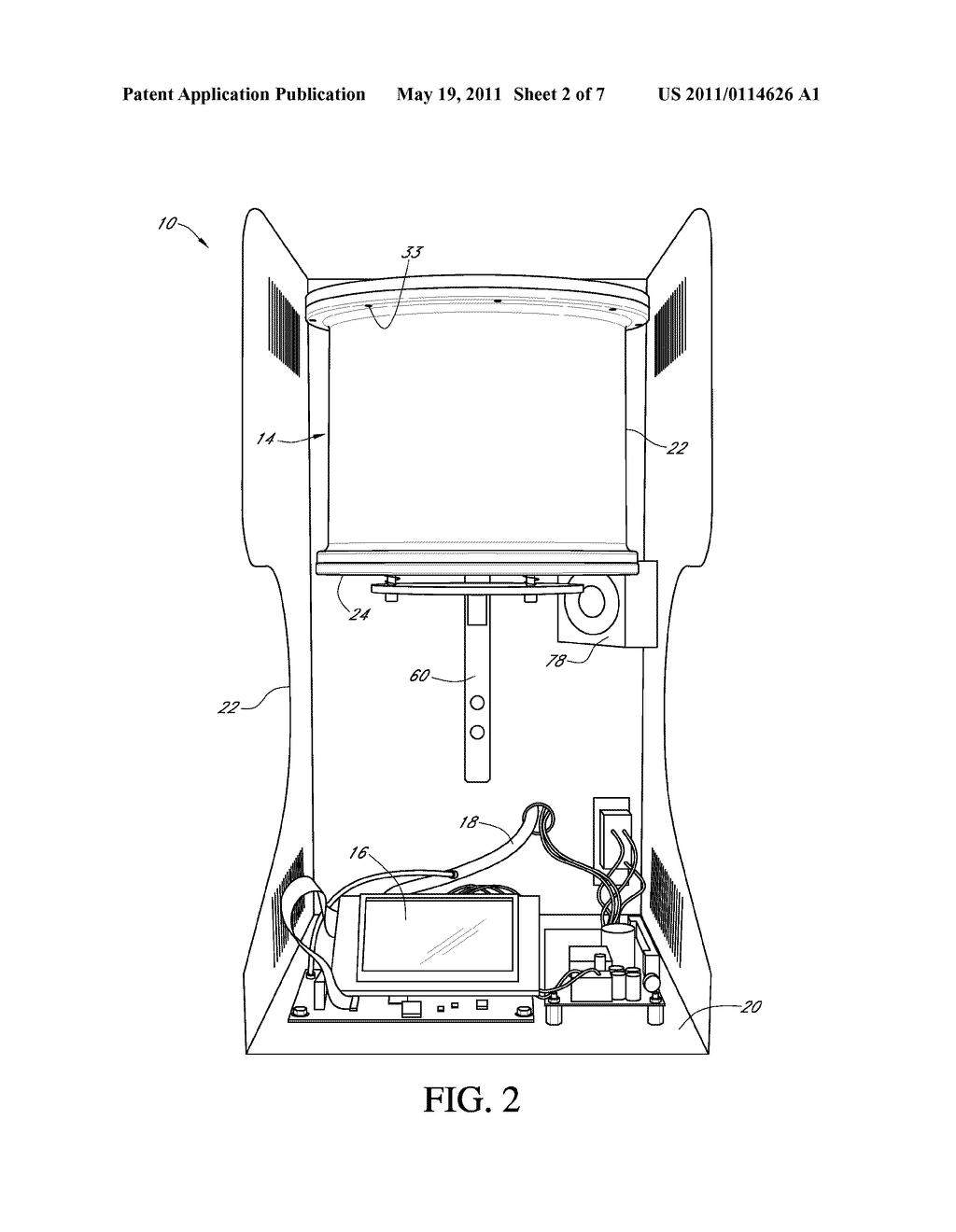 Vacuum Oven - diagram, schematic, and image 03