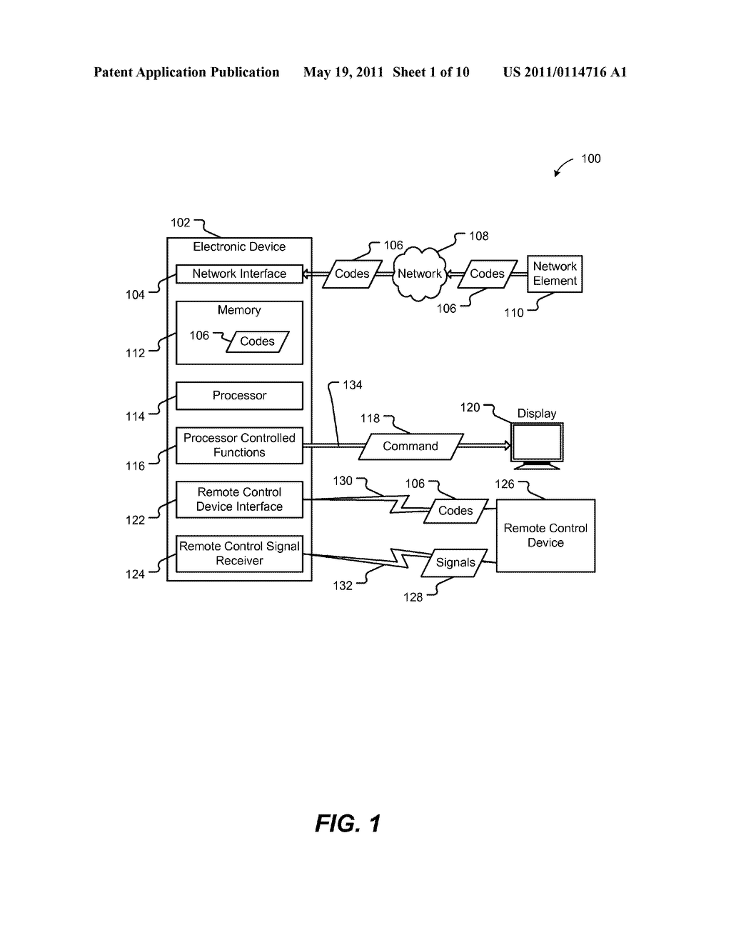 Systems and Methods for Programming a Remote Control Device - diagram, schematic, and image 02