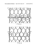 Protective wire net, a protective structure constructed with the net, and the use of the protective wire net for the construction of a protective structure diagram and image