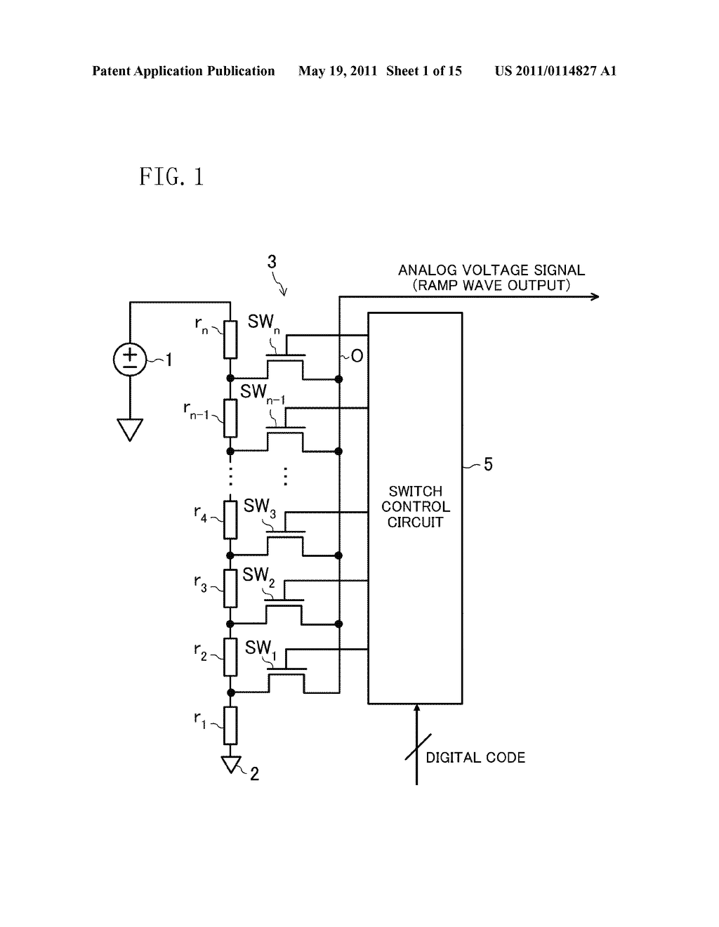 Ramp Generator Circuit Digital Diagram Symbols High Voltage To Analog Converter Rh Patentsencyclopedia Com Simple Sawtooth Wave