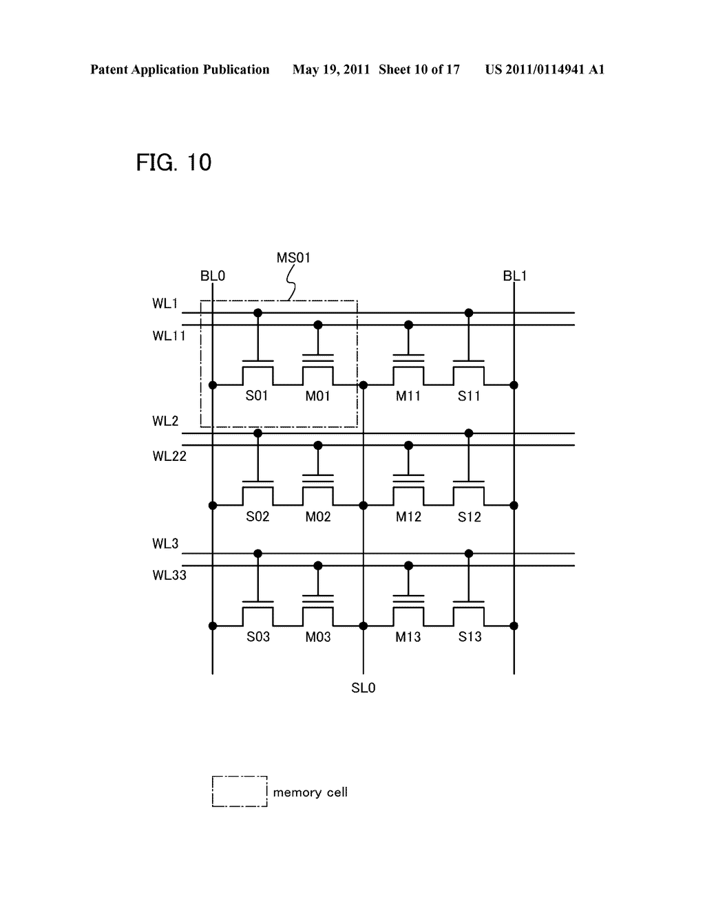DEVICE INCLUDING NONVOLATILE MEMORY ELEMENT - diagram, schematic, and image 11