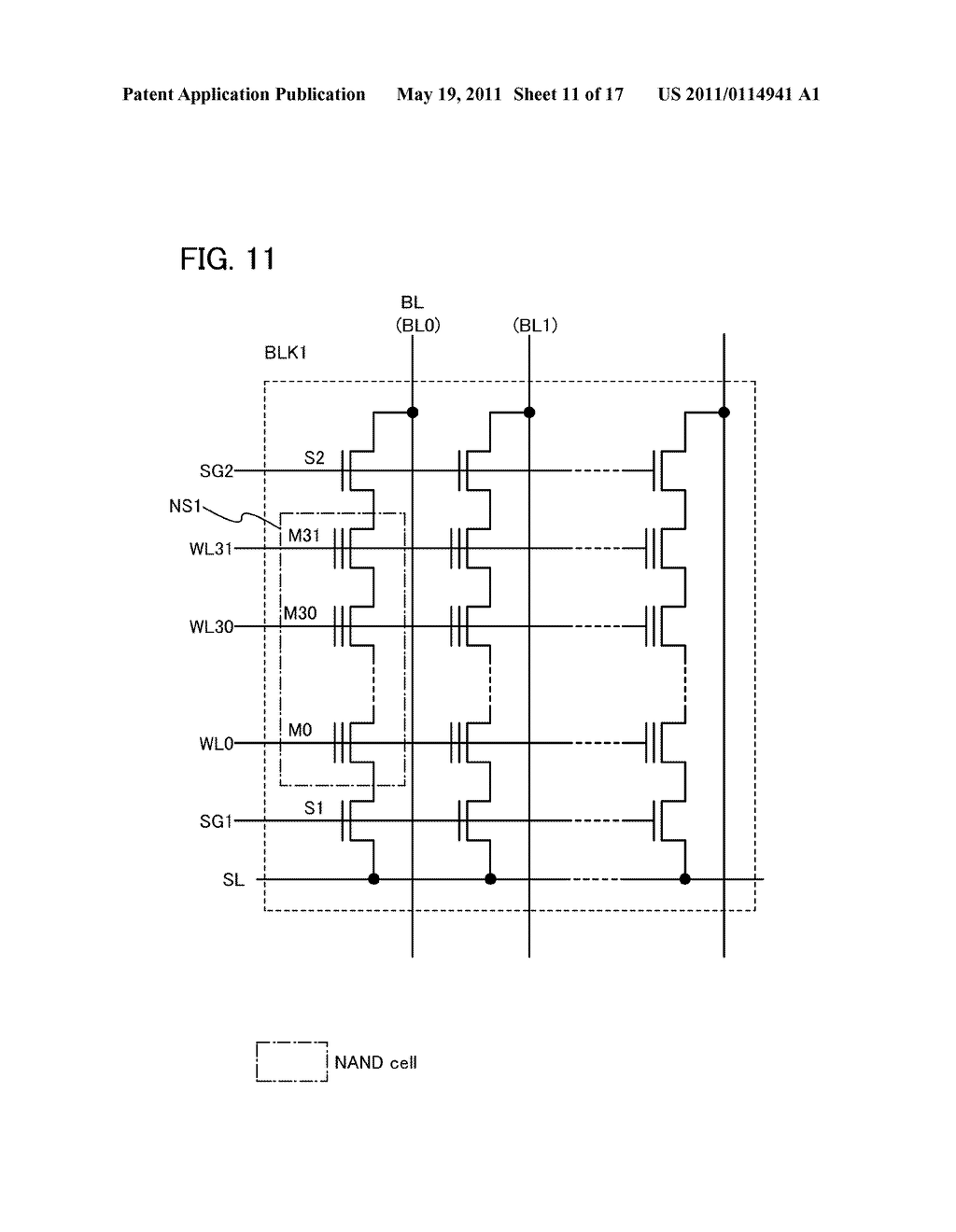 DEVICE INCLUDING NONVOLATILE MEMORY ELEMENT - diagram, schematic, and image 12