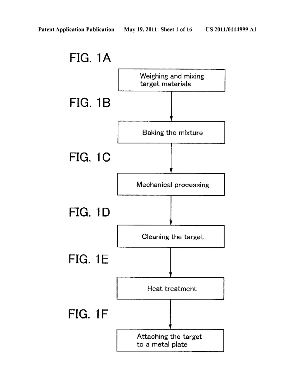 SPUTTERING TARGET AND METHOD FOR MANUFACTURING THE SAME, AND TRANSISTOR - diagram, schematic, and image 02