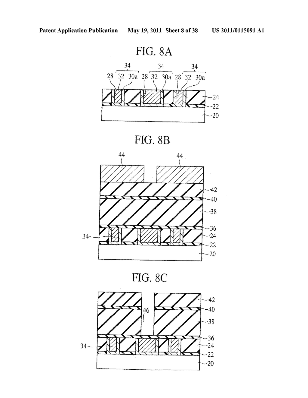 SEMICONDUCTOR DEVICE HAVING GROOVE-SHAPED VIA-HOLE - diagram, schematic, and image 09