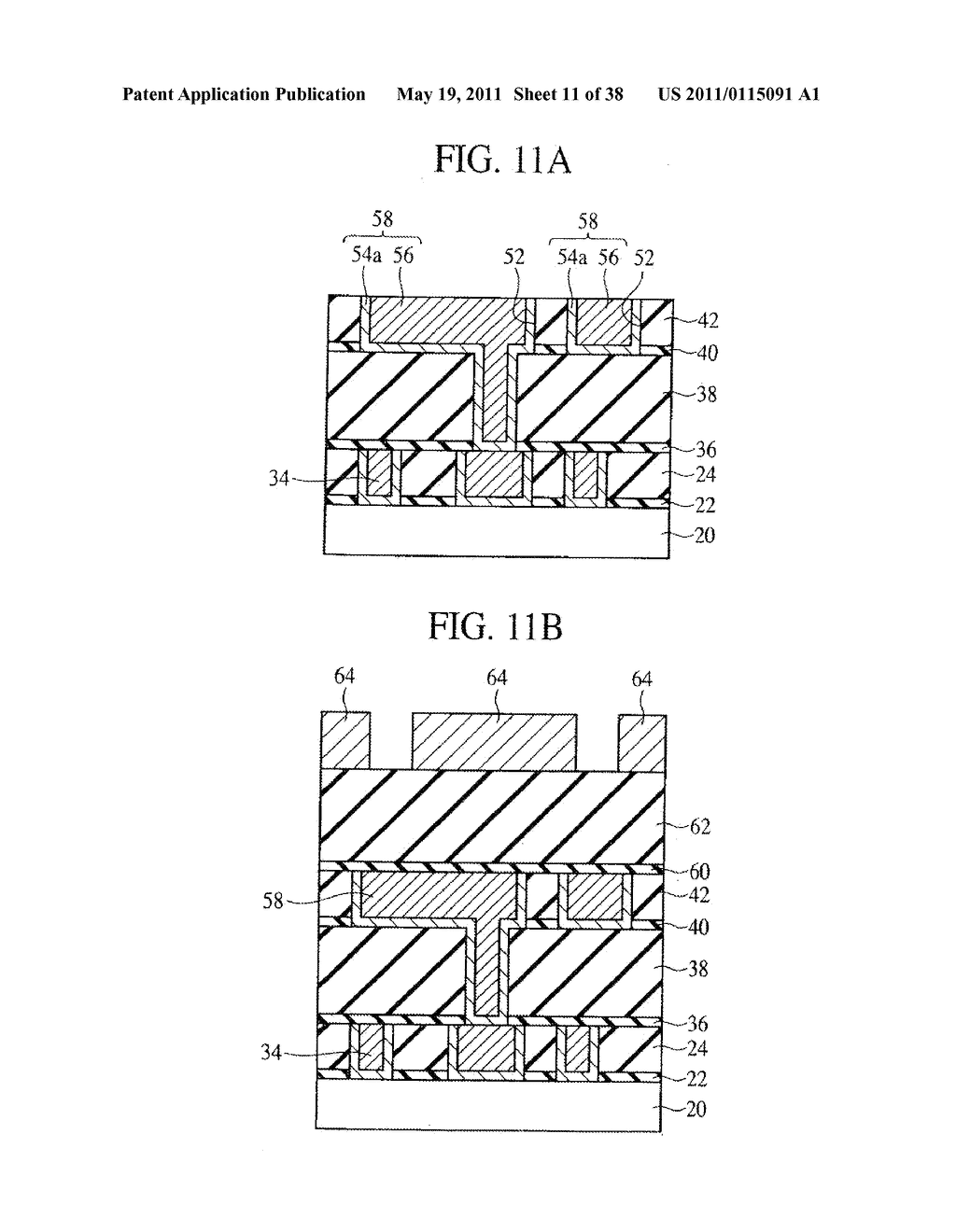 SEMICONDUCTOR DEVICE HAVING GROOVE-SHAPED VIA-HOLE - diagram, schematic, and image 12
