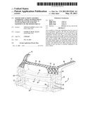 MOTOR VEHICLE FRONT ASSEMBLY COMPRISING A FRONT BUMPER SHIELD BEARING MEANS FOR ATTACHING AT LEAST ONE PIECE OF AUXILIARY EQUIPMENT OF THE MOTOR VEHICLE diagram and image