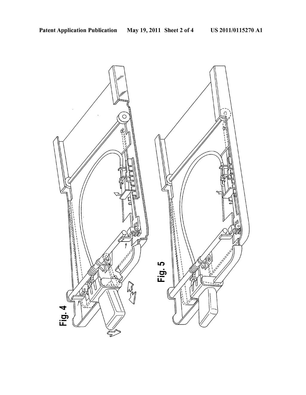 Adjustable vehicle seat suspension assembly - diagram, schematic, and image 03