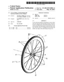 CYCLE WHEEL AND METHODS FOR MANUFACTURING SUCH A WHEEL diagram and image