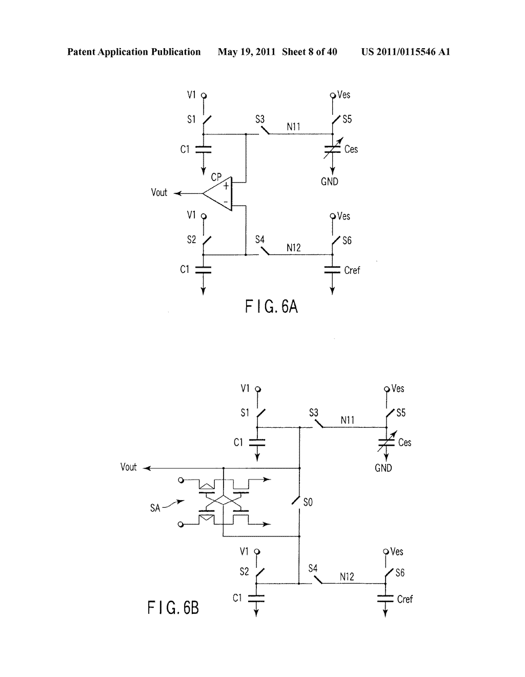 SEMICONDUCTOR INTEGRATED CIRCUIT INCLUDING CIRCUIT FOR DRIVING ELECTROSTATIC ACTUATOR, MICRO-ELECTRO-MECHANICAL SYSTEMS, AND DRIVING METHOD OF ELECTROSTATIC ACTUATOR - diagram, schematic, and image 09
