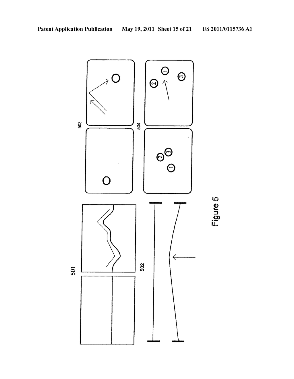 DEVICES AND METHODS OF CONTROLLING MANIPULATION OF VIRTUAL OBJECTS ON A MULTI-CONTACT TACTILE SCREEN - diagram, schematic, and image 16