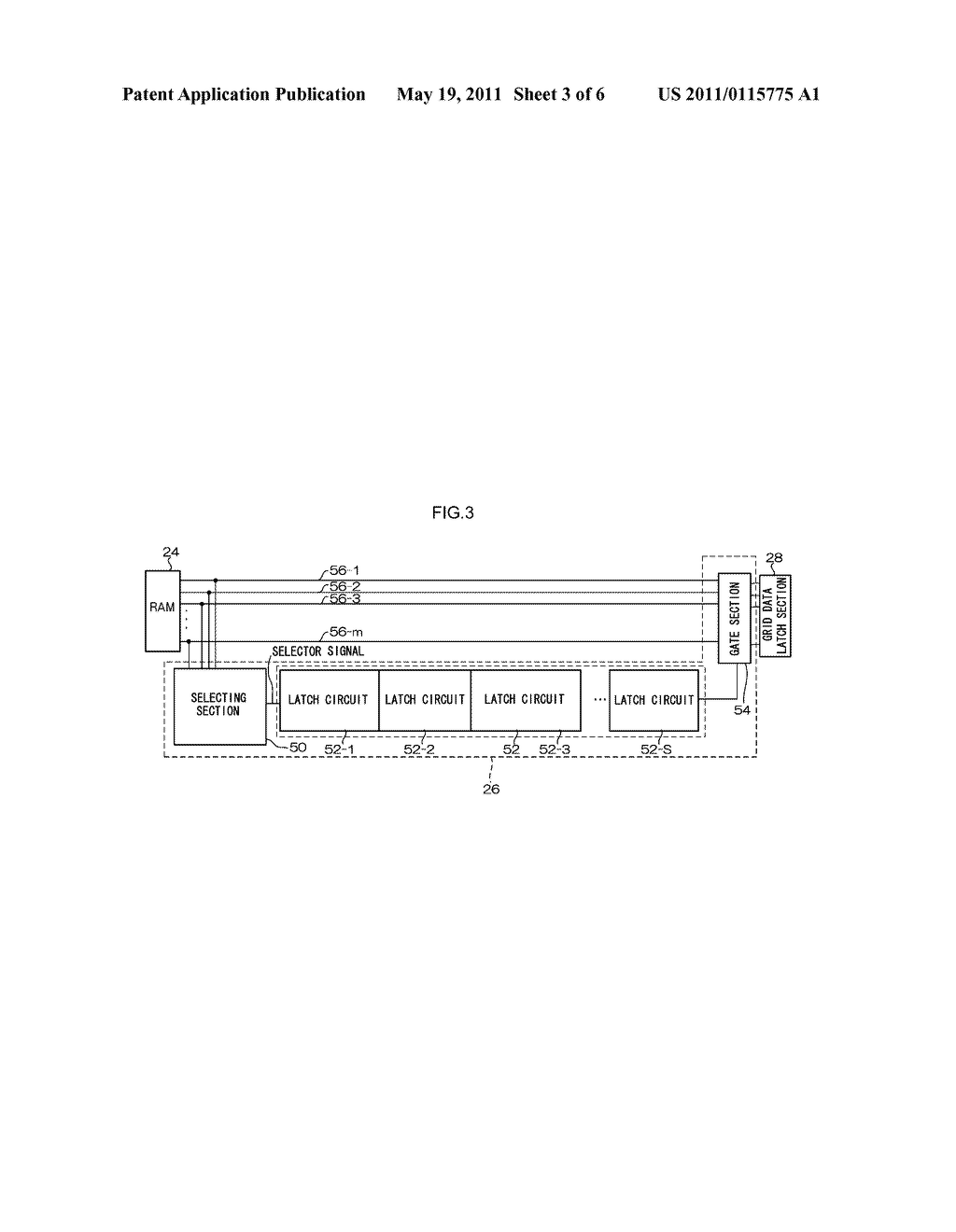 VACUUM FLUORESCENT DISPLAY DRIVING APPARATUS - diagram, schematic, and image 04