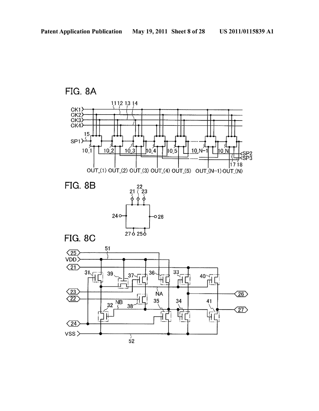 DISPLAY DEVICE AND ELECTRONIC DEVICE INCLUDING THE SAME - diagram, schematic, and image 09