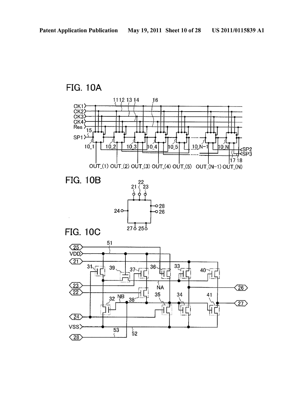 DISPLAY DEVICE AND ELECTRONIC DEVICE INCLUDING THE SAME - diagram, schematic, and image 11