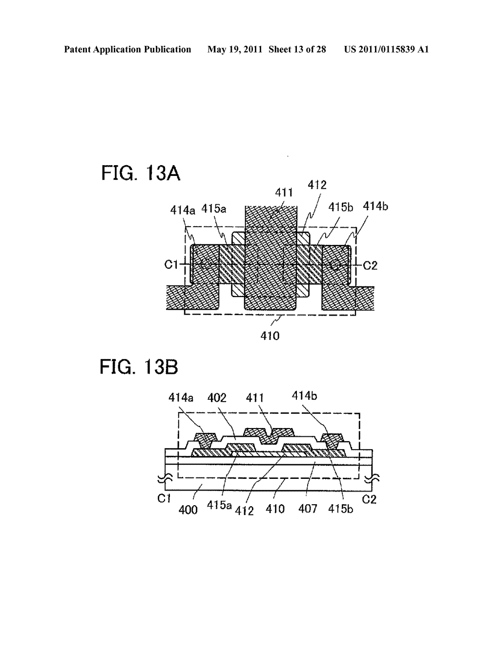 DISPLAY DEVICE AND ELECTRONIC DEVICE INCLUDING THE SAME - diagram, schematic, and image 14