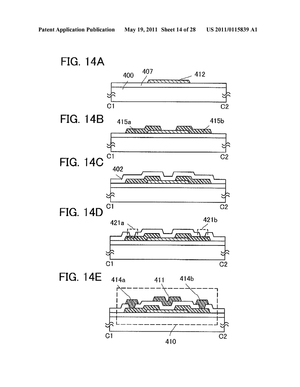 DISPLAY DEVICE AND ELECTRONIC DEVICE INCLUDING THE SAME - diagram, schematic, and image 15