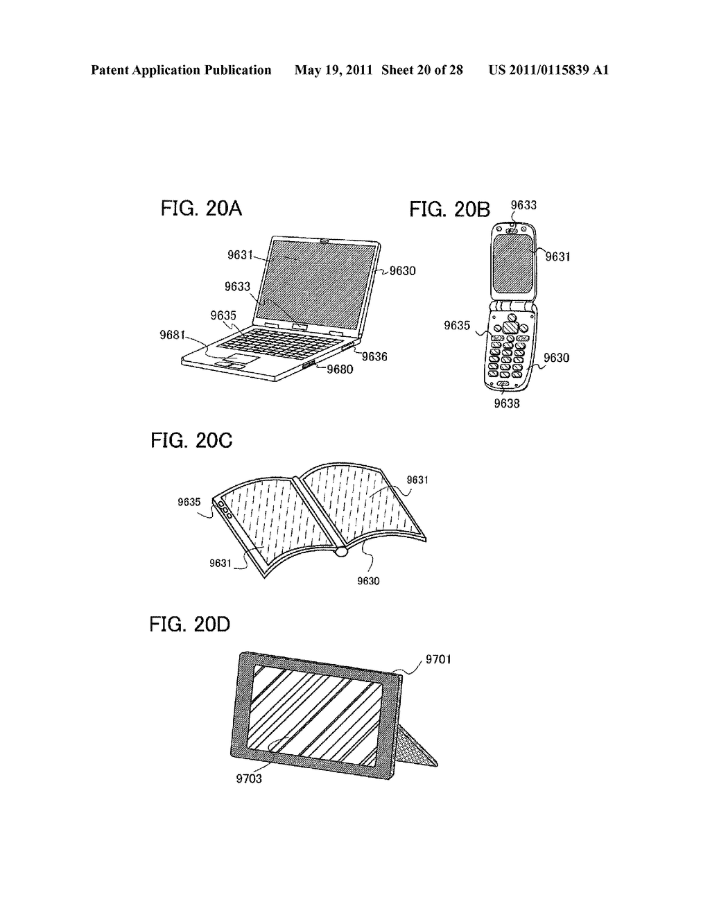 DISPLAY DEVICE AND ELECTRONIC DEVICE INCLUDING THE SAME - diagram, schematic, and image 21